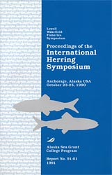 Proceedings of the International Herring Symposium