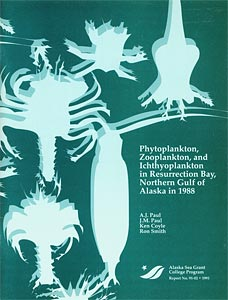 Phytoplankton, Zooplankton and Ichthyoplankton in Resurrection Bay, Northern Gulf of Alaska in 1988