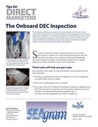 Tips for Direct Marketers: The Onboard DEC Inspection