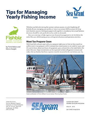 Tips for Managing Yearly Fishing Income