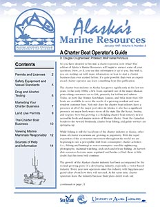 Charter Boat Operator's Guide. Alaska's Marine Resources 8(3)