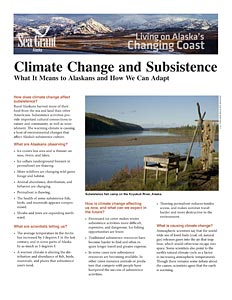 Climate Change and Subsistence: What It Means to Alaskans and How We Can Adapt