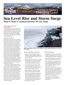 Sea Level Rise and Storm Surge: What It Means to Alaskans and How We Can Adapt