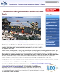 Encountering Environmental Hazards on Alaska's Coasts