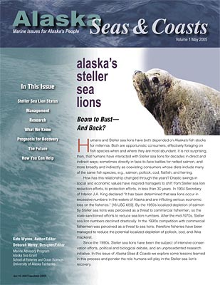 Alaska's Steller Sea Lions: Boom to Bust—and Back?