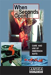 When Seconds Count: Care and Use of Immersion Suits