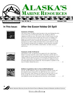 After the Exxon Valdez Oil Spill