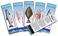 Chinook Salmon Recipe Bookmark (pack of 50)