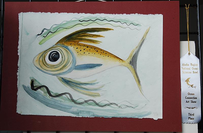Results of the 2012 art competition | Alaska Ocean Sciences Bowl
